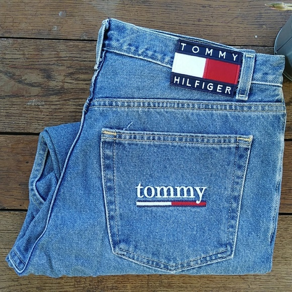 Tommy Hilfiger Vintage Jeans With Patch